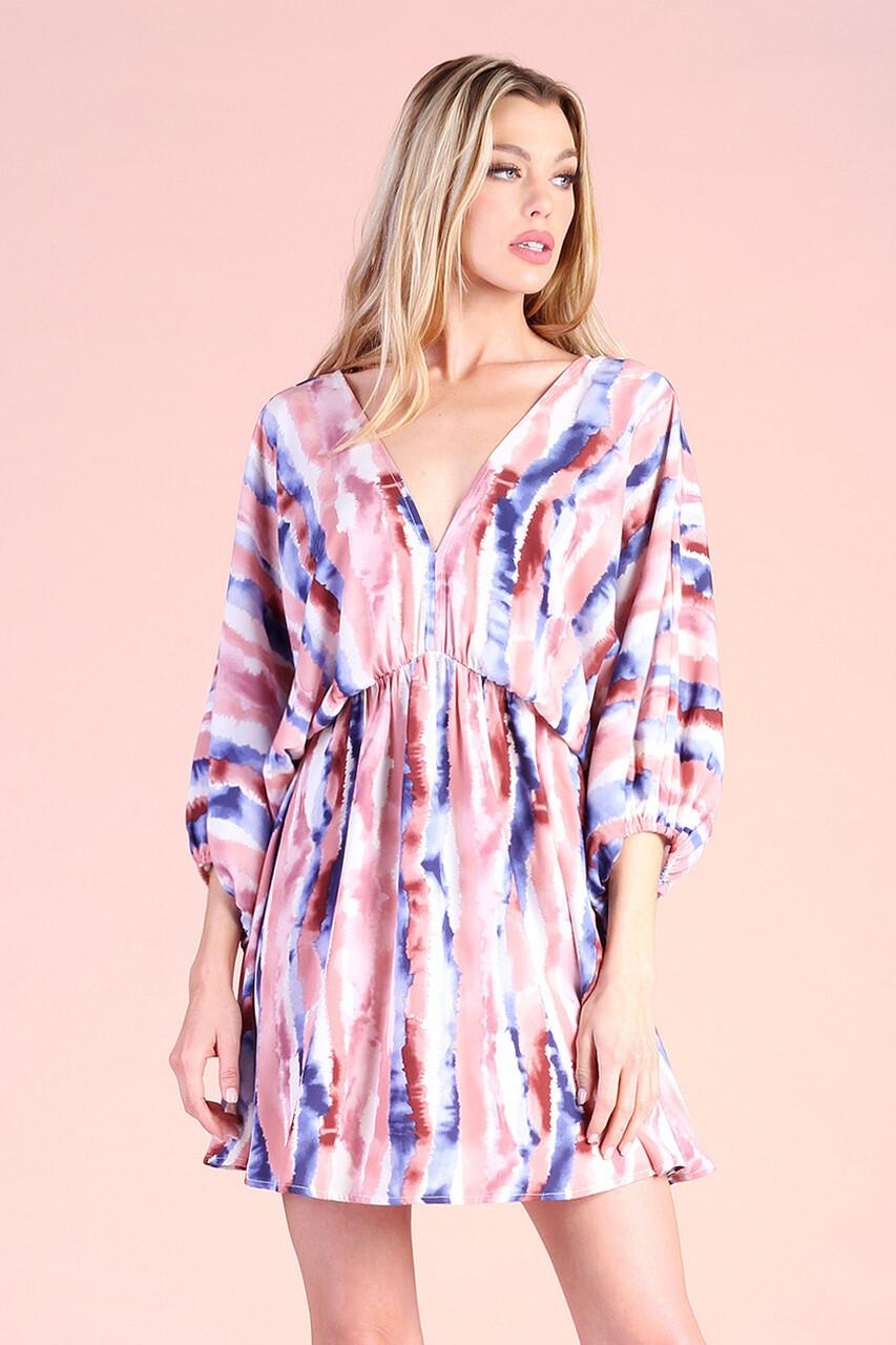 Allison Print Dress