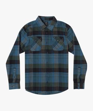 Thatll Do Flannel-Blue