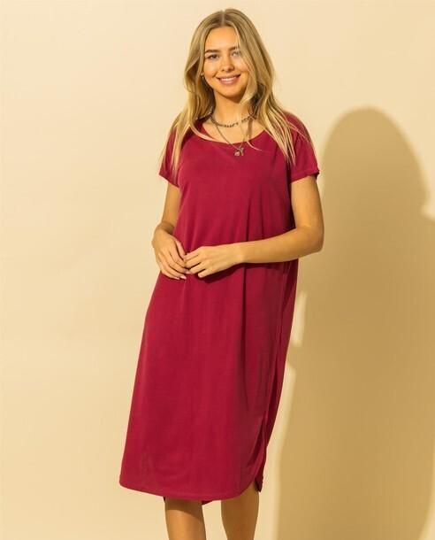 Marnie Dress-Red