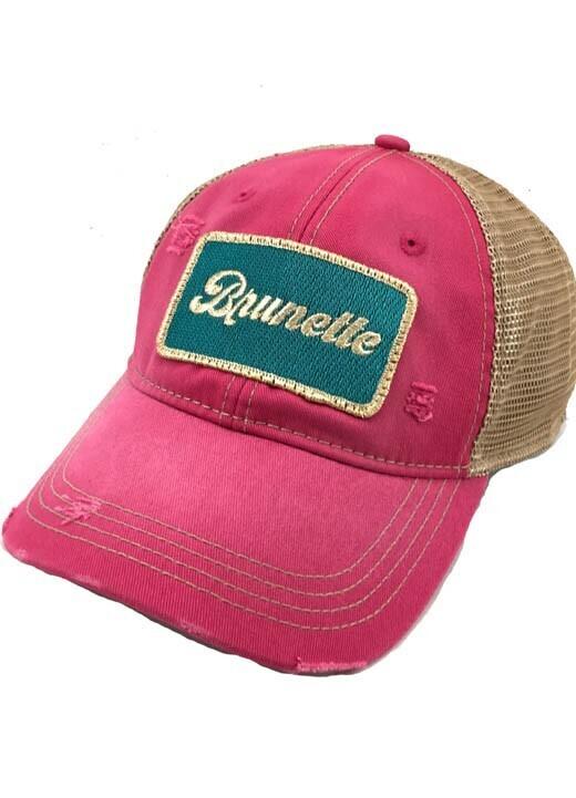 Brunette Hat
