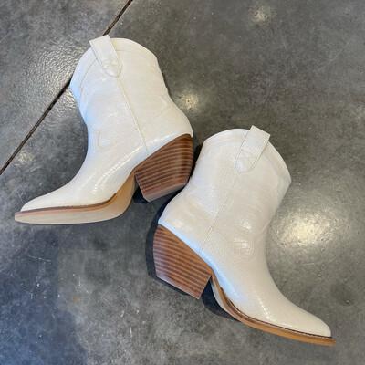 Yee Haw Boot-Cream