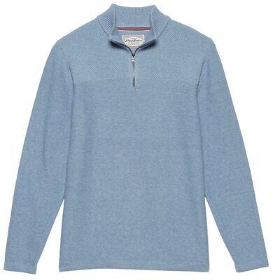 Mock Sweater-Blu