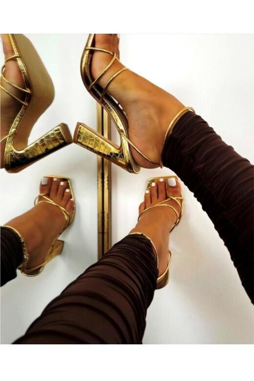 Hollywood Heel-Gold