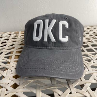 OKC Hat-Grey