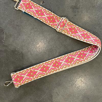 Medallion Strap-Pink