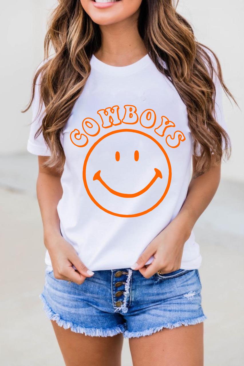 Cowboys Smile Tee