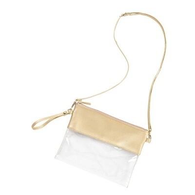 Gold Stadium Bag