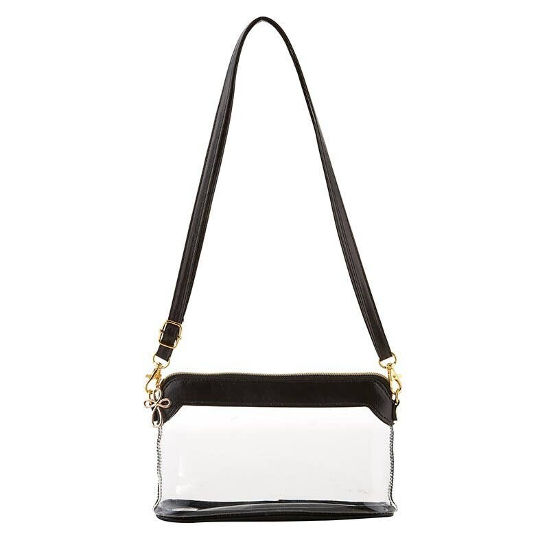 Clear As Day Bag-Blk