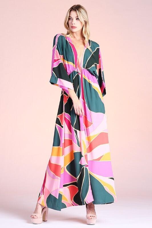 Ashlee Maxi-Pink