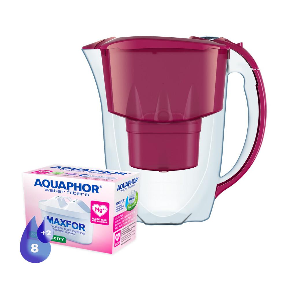 Waterfilterkan Amethyst+ wisselpatronen B25 8+2 gratis