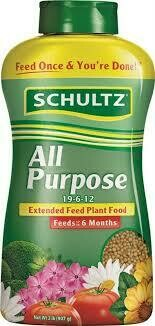 Schultz All Purpose Extended Feed 19-6-12 Plant Food $11.99
