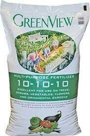 Greenview Multi Purpose Fertilizer (40 #) $19.99
