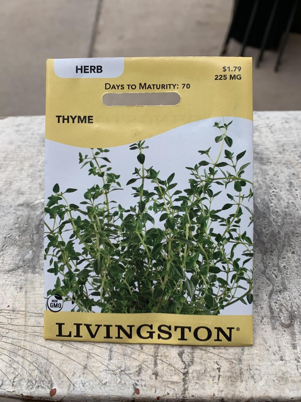 Thyme (Seed) $1.79