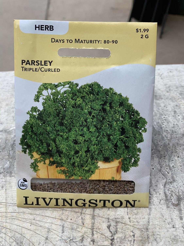 Parsley Triple Curled (Seed) $1.99