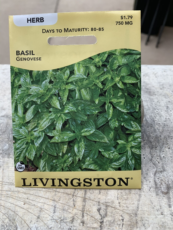 Basil Genovese (Seed) $1.79