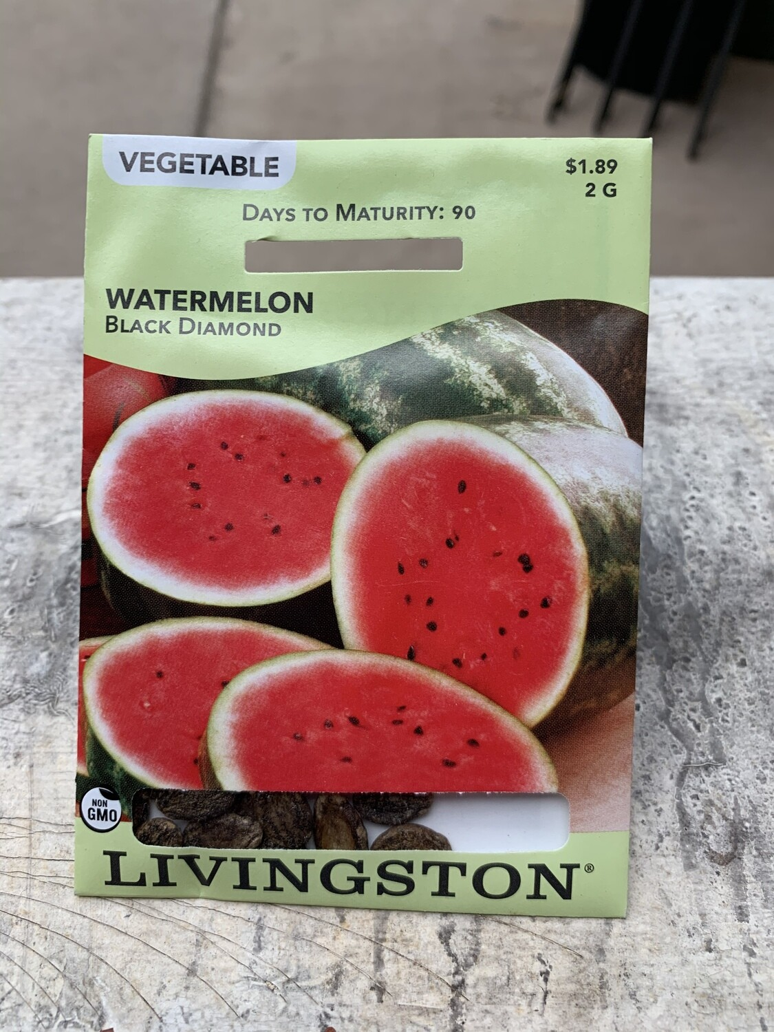 Watermelon Black Diamond (Seed) $1.89