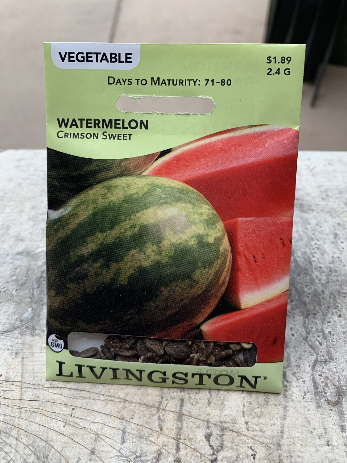 Watermelon Crimson Sweet (Seed) $1.89