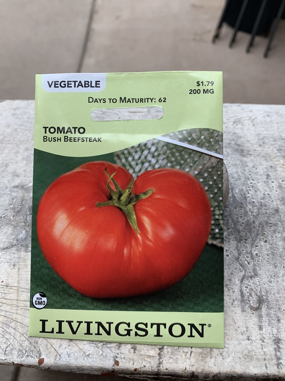 Tomato Beefsteak Bush (Seed) $1.79