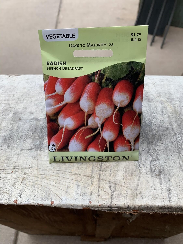Radish Sparkler White Tip (Seed) $1.89