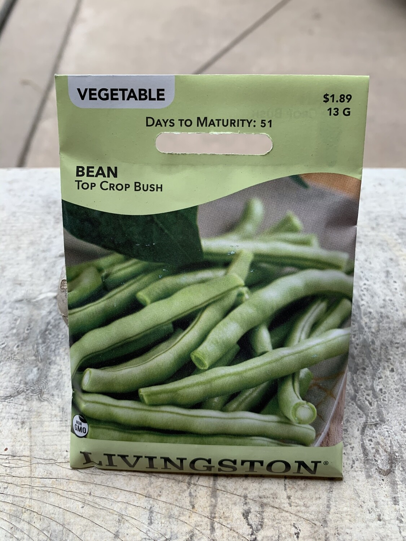 Bean Topcrop Bush (Seed) $1.89