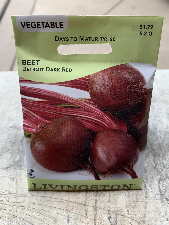 Beet Detroit Dark Red (Seed) $1.79