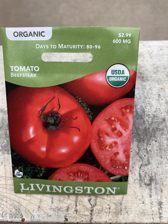Organic Tomato Beefsteak (Seed) $2.99