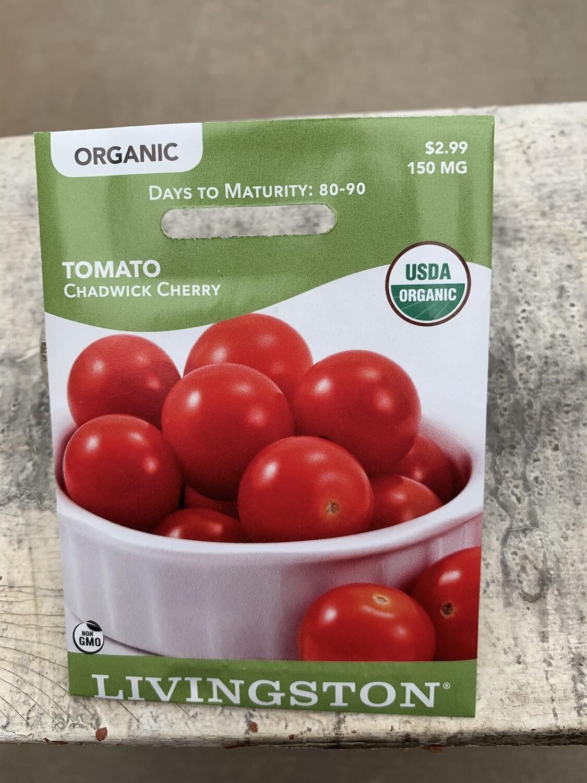 Organic Tomato Chadwick Cherry (Seed) $2.99