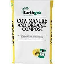 Bag Compost/Cow Manure (.75 cu ft) $8.99