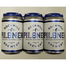 Rockmill Pilsner (6 pack) CANS