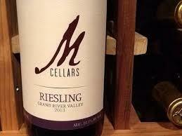 M Cellars Riesling $17.99