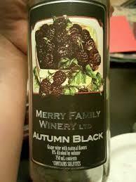 Merry Family Autumn Black