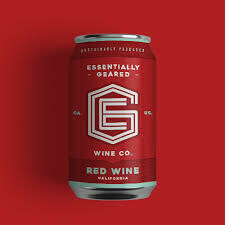 Essentially Geared Wine Red Wine CANS