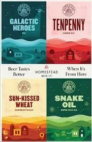 Homestead Sun Kissed Wheat (6 pack)