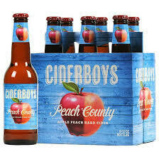 Cider Boys Peach Country $9.99