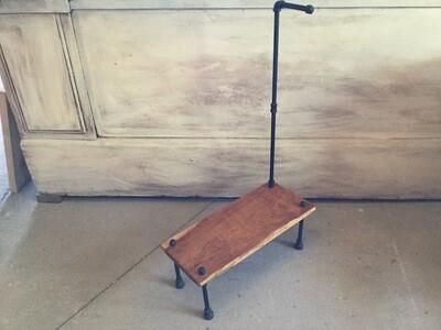 2057 Cherry Step Stool w/Handle $129.99