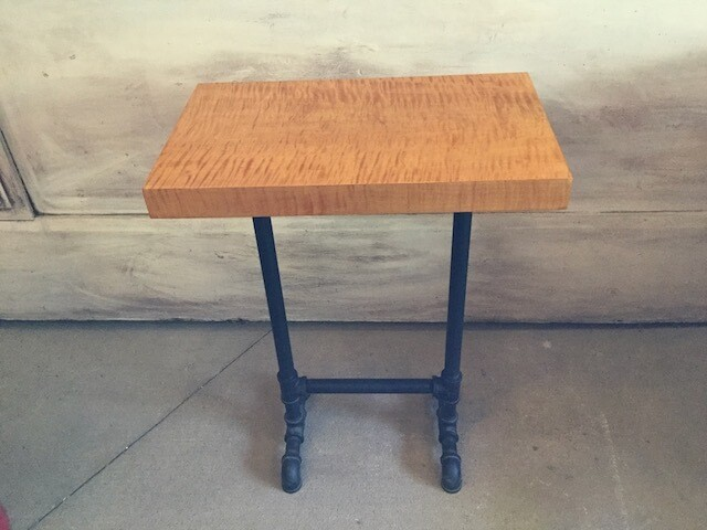 2057 Curly Maple End Table $379.99