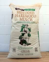 Bag BROWN Mulch (2 cu ft bag) Double Shredded