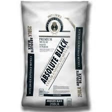 Bag BLACK Mulch (2 cu ft bag) Double Shredded