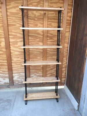 2057 Curly Maple Bookshelf $799.99