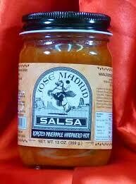 Jose Madrid Salsa Roasted Pineapple Habanero HOT $4.99