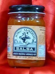 Jose Madrid Salsa Roasted Pineapple Habanero HOT $4.99