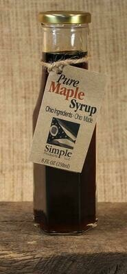 Syrup Pure Maple (8 oz) $8.95
