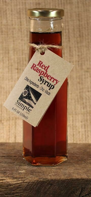 Syrup Red Raspberry 8 oz