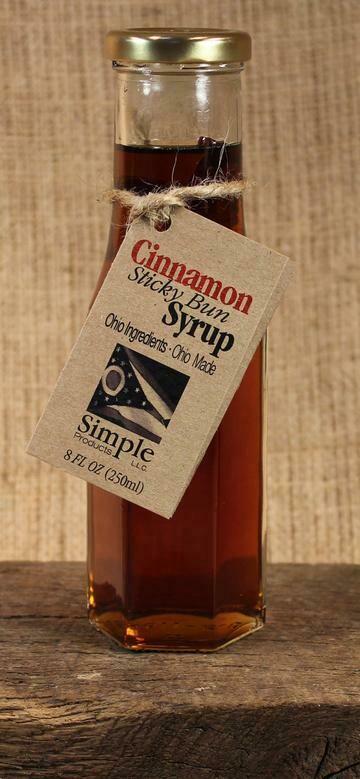 Syrup Cinnamon Sticky Bun (8 oz) $8.95
