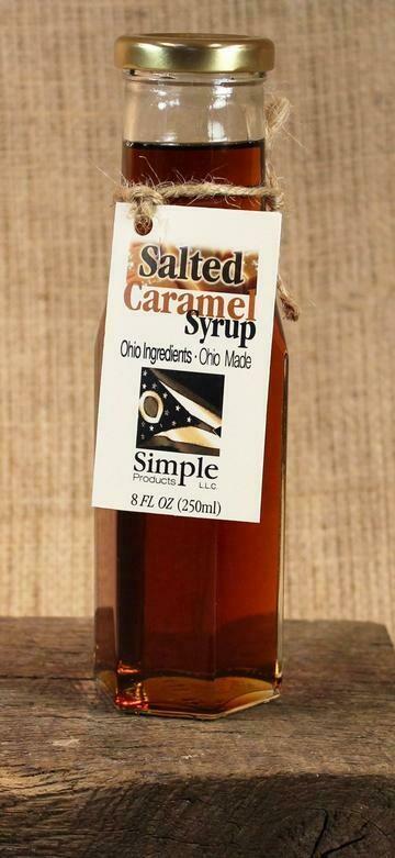 Syrup Salted Caramel (8 oz) $8.95