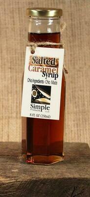 Syrup Salted Caramel 8 oz