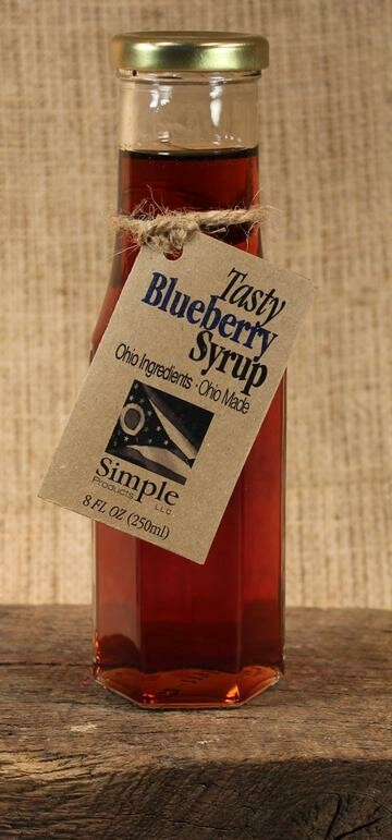 Syrup Blueberry 8 oz