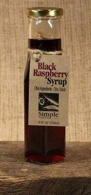 Syrup Black Raspberry 8 oz