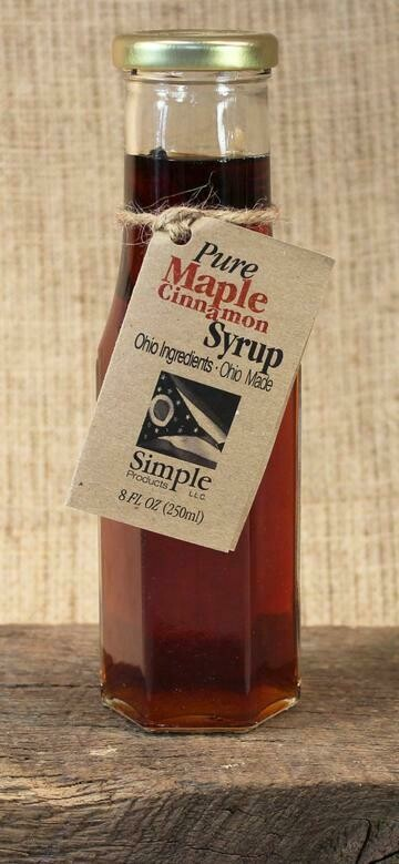 Syrup Maple Cinnamon (8 oz) $8.95