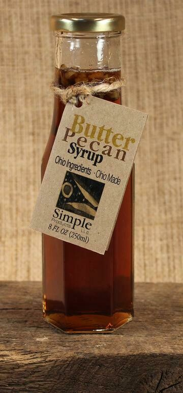 Syrup Butter Pecan 8 oz